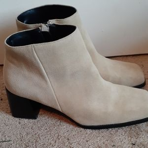 Pazzo tan Suede Ankle boots